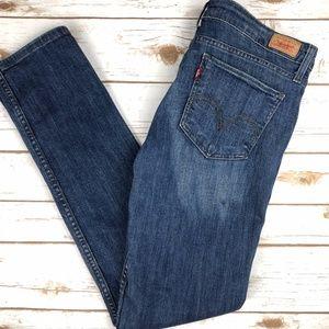 Levi's 524 Too Superlow Boot Cut Jeans Medium Wash